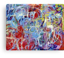 Loops of Fury Canvas Print