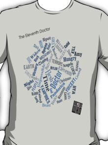 The Eleventh Doctor - Title Montage T-Shirt