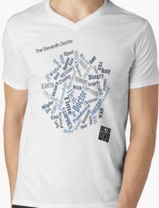 The Eleventh Doctor - Title Montage Mens V-Neck T-Shirt