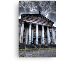 Crumlin Road Courthouse Entrance Canvas Print