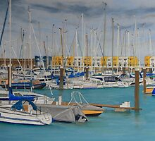 Brighton Marina by Karl Connolly