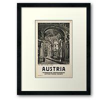 Vintage - Austria Framed Print