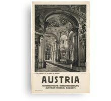 Vintage - Austria Canvas Print