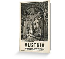 Vintage - Austria Greeting Card