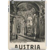 Vintage - Austria iPad Case/Skin