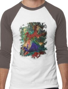 Bioshock Infinite Falling Men's Baseball ¾ T-Shirt