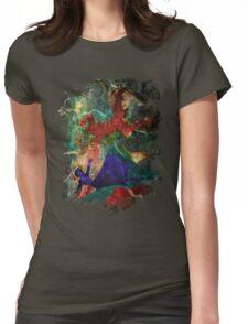 Bioshock Infinite Falling Womens Fitted T-Shirt