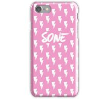 Girls' Generation (SNSD) 'SONE' Pink Bolt iPhone Case/Skin