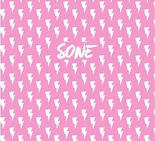 Girls' Generation (SNSD) 'SONE' Pink Bolt by ikpopstore