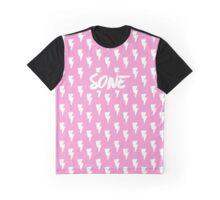 Girls' Generation (SNSD) 'SONE' Pink Bolt Graphic T-Shirt