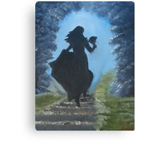 """""""Draw Me And I Will Run""""  by Carter L. Shepard Canvas Print"""