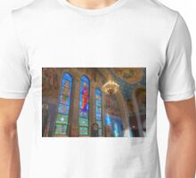 Northern Apse Stained Glass Unisex T-Shirt