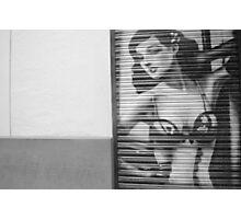 Black and White Madrid Photographic Print