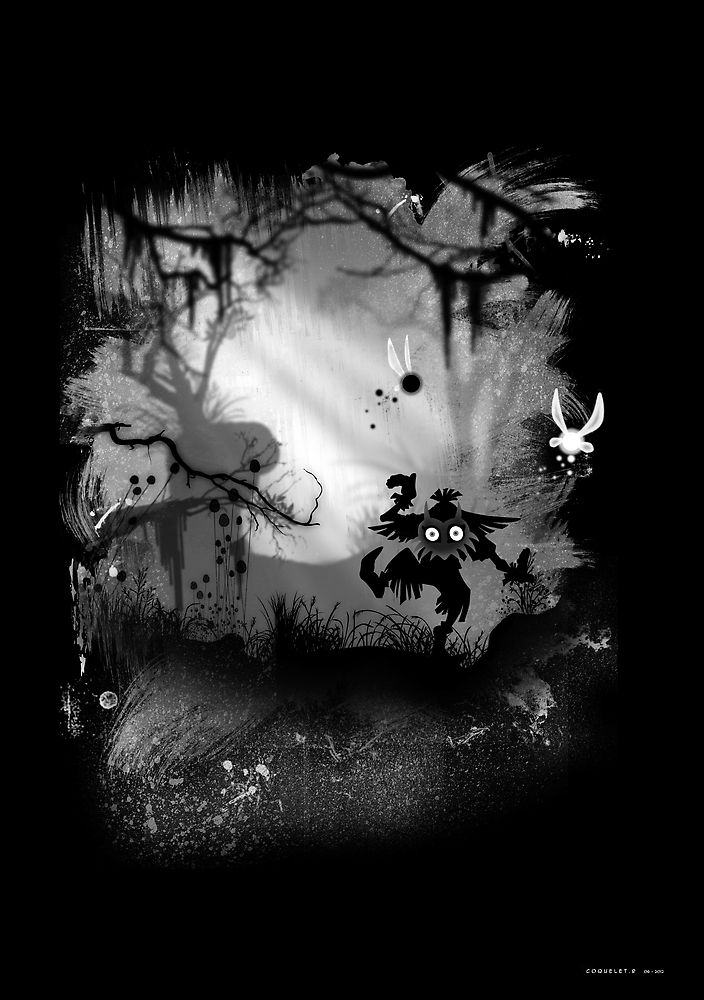 The Majora's Dark by Yobicook