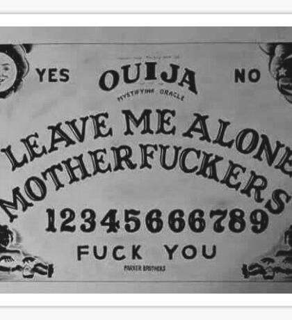 ouija motherf****** Sticker
