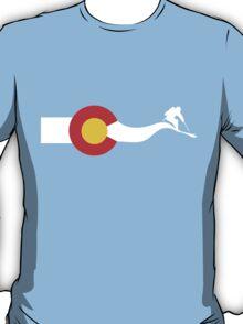 Ski Colorado Flag T-Shirt