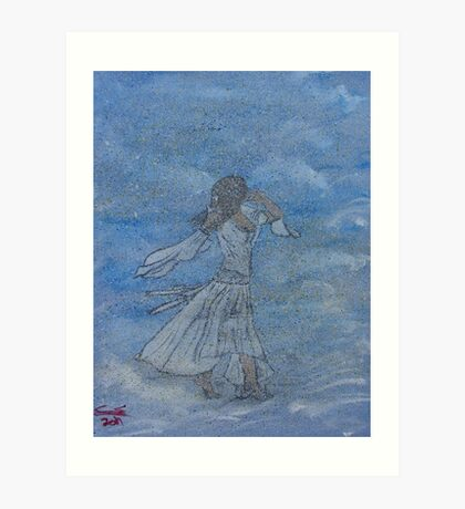 """Cloud Dance""  by Carter L. Shepard Art Print"