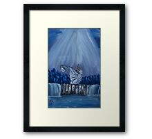 """Creation's Dance""  by Carter L. Shepard Framed Print"