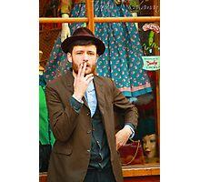 Smoking in Brick lane Photographic Print