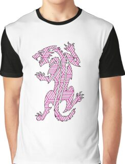 Tiger Strikes Pink  Graphic T-Shirt