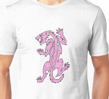 Tiger Strikes Pink  Unisex T-Shirt