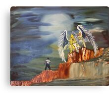 """Encounter""  by Carter L. Shepard Canvas Print"