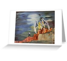 """""""Encounter""""  by Carter L. Shepard Greeting Card"""