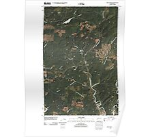 USGS Topo Map Washington State WA New London 20110418 TM Poster