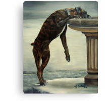The Drinking Fountain Canvas Print