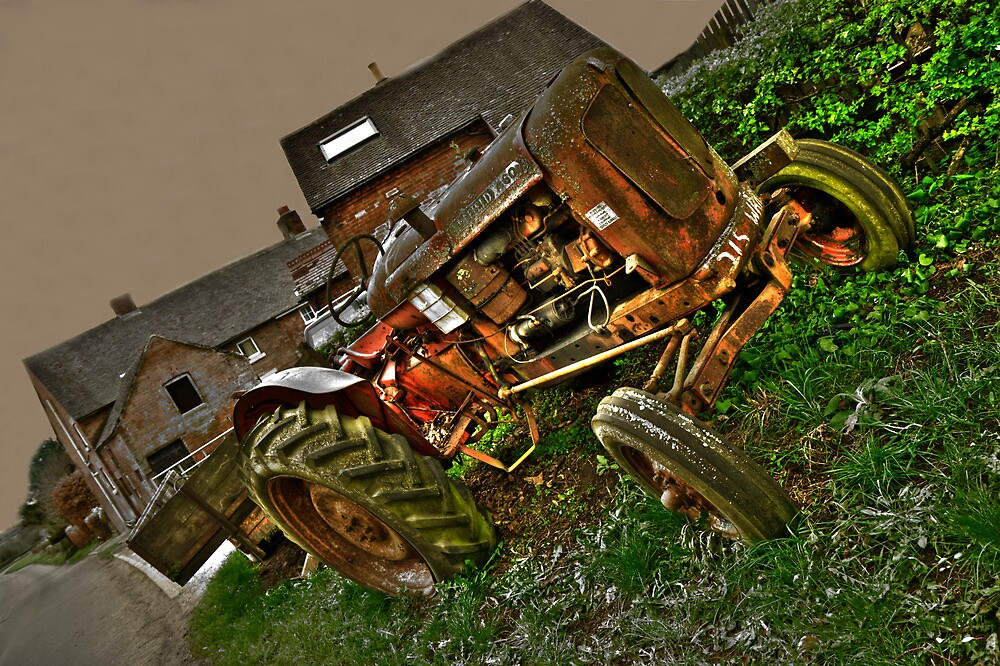 Nuffield A60 Tractor by rolandkeates