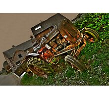 Nuffield A60 Tractor Photographic Print