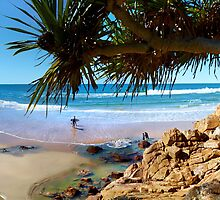 A Day at Coolum by Adam Gormley