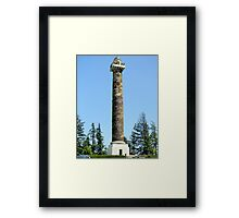 Astor Column  Framed Print