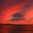 winter sky. eastcoast, tasmania by tim buckley | bodhiimages