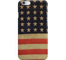 STARS AND STRIPES AGAIN-2 iPhone Case/Skin