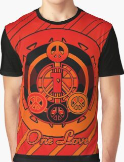 One Love (Red Variant) Graphic T-Shirt