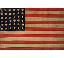 STARS AND STRIPES AGAIN-2 Photographic Print