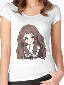Shindou Ai Women's Fitted Scoop T-Shirt