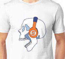 Syracuse Headphones Skull Unisex T-Shirt