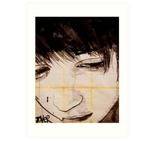 see my face Art Print
