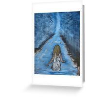 """Find Me In The River""  by Carter L. Shepard Greeting Card"