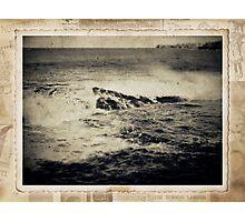the seaside ~ a nostalgic study I Photographic Print