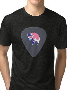 Pink Floyd Guitar Pick Tri-blend T-Shirt