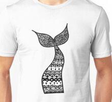 Mermaid Tail Zentangle Unisex T-Shirt