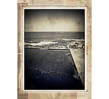 the seaside ~ a nostalgic study II Photographic Print