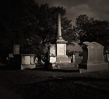 The Texas Chain Saw Massacre - Bagdad Cemetery by Trish Mistric