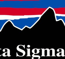 Delta Sigma Phi Red White and Blue Sticker