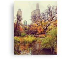 Fall into Central Park Canvas Print