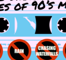 The Unbreakable Rules Of 90's Music Sticker