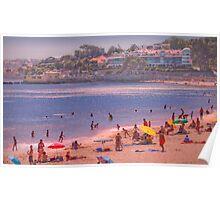 Caxias beach Poster